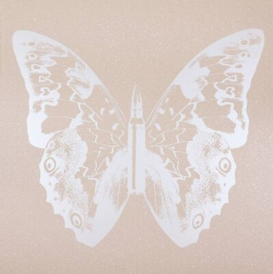 Rubem Robierb, 'Pearl Butterly on Pink Sand'
