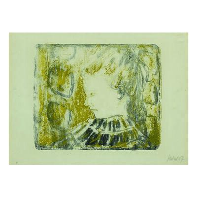 Erich Heckel, 'Krankes Kind (Sick Girl)', 1907