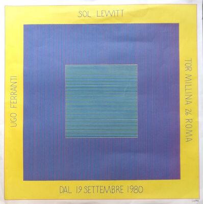 Sol LeWitt, 'Sol Lewitt's Exhibition Poster', 1980
