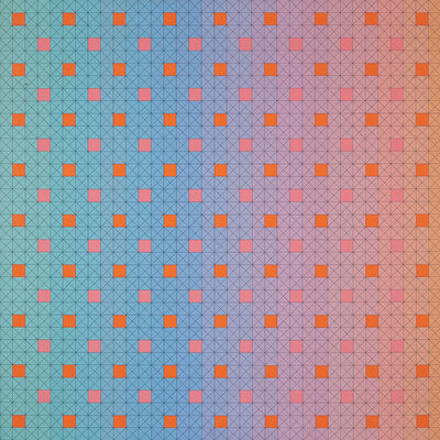 Edna Andrade, 'Untitled (Geometric Squares)', 1981