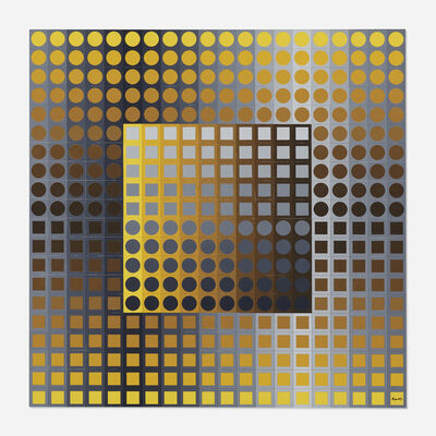 Victor Vasarely, 'Planetary Folklore Participations No. 2', 1971