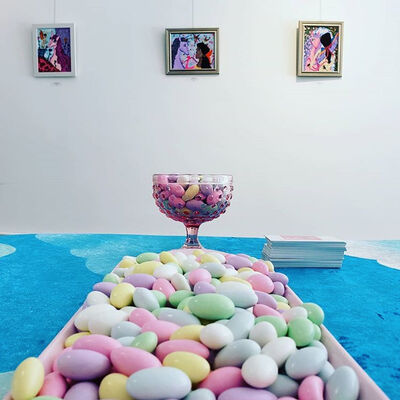 Cindy Parra: A Walk in the Clouds, installation view