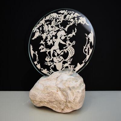 Jam WU, 'Bonfires-Stone-06-1', 2018