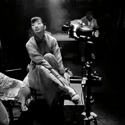 "Patrick Zachmann, 'Making of the film ""Temptress Moon"" directed by Chen KAIGE, Actess Gong LI.', 1995"