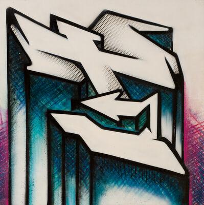 """RISK, 'Alphabet letter """"T""""', 2008"""