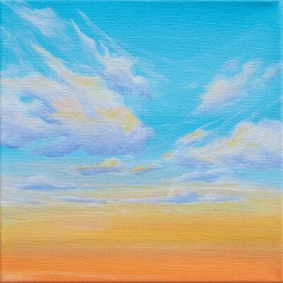 Nichole McDaniel, 'Tangerine Ether 1', 2021