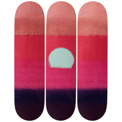 Andy Warhol, 'Sunset (Purple) Skateboard Decks', 2019