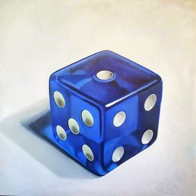 "John Schieffer, '""Royal Blue Luck""', 2018"