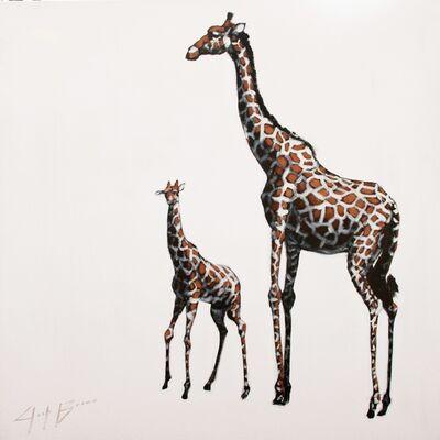 Josh Brown, 'Two Giraffes ', 2020