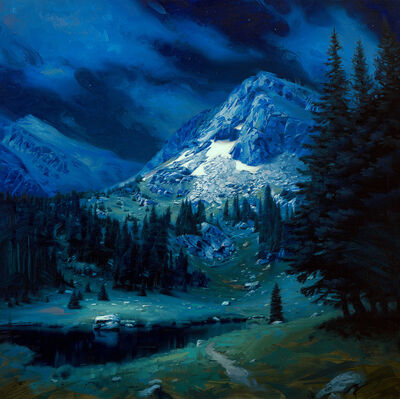 Rob Rey, 'Alpine Evening', 2019