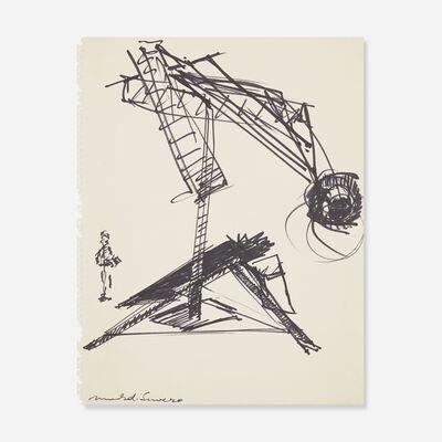 Mark di Suvero, 'Untitled', ca. 1981
