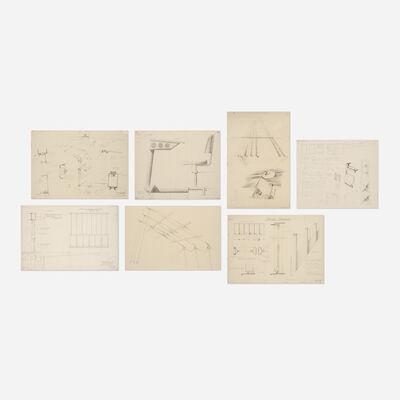 Jean Prouvé, 'Collection of seven prints', c. 1955