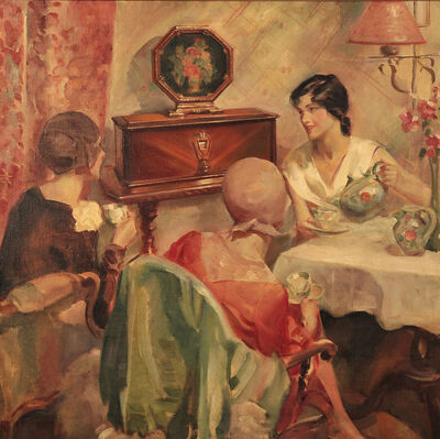 Walter Seaton, 'Lady Lunch'