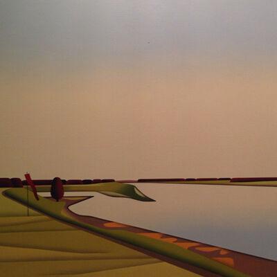 """Jan Schüler, '""""ABEND AM RHEIN""""', 2014"""