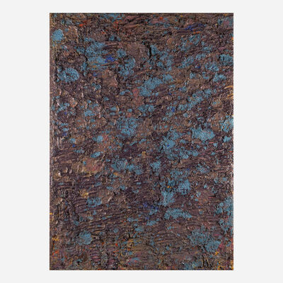 Edvins Strautmanis, 'Peruvian Blue', 1976
