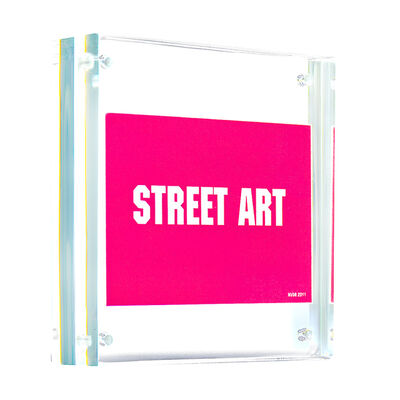 Invader, 'STREET ART (Framed)', 2011