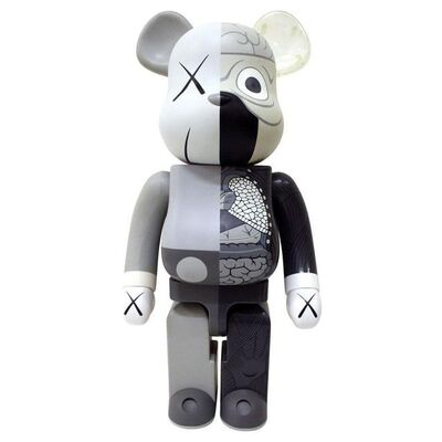 BE@RBRICK, 'Kaws Dissected Companion Grey 1000%', 2010