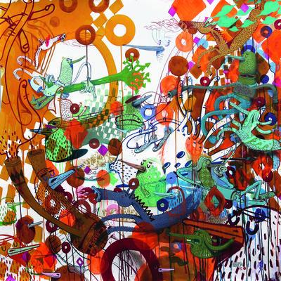 Alëxone Dizac, 'Rond Comme Un Ballon', 2014