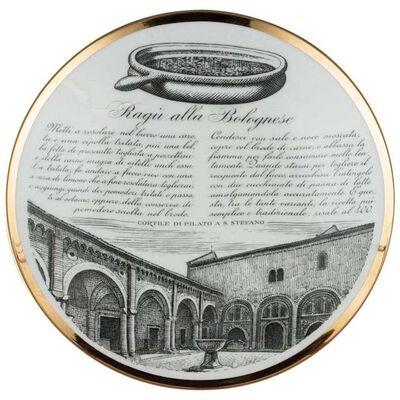 Piero Fornasetti, 'Ragù Alla Bolognese Plate', 1960s