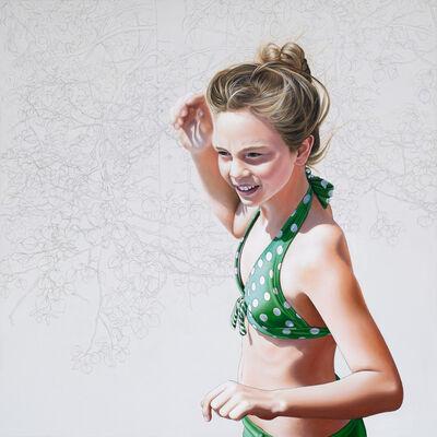 Mara Minuzzo, 'The In-between (Polka Dot Bikini Girl)', 2016