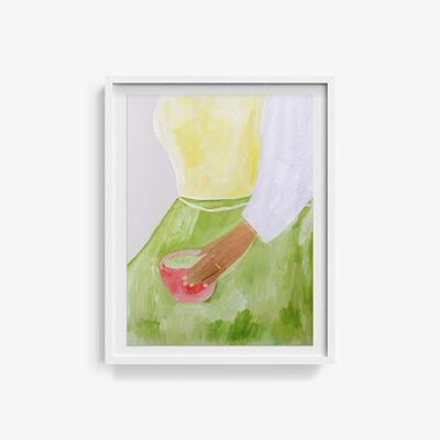 Johanna Tagada, 'Avec un bol à thé en été', 2019