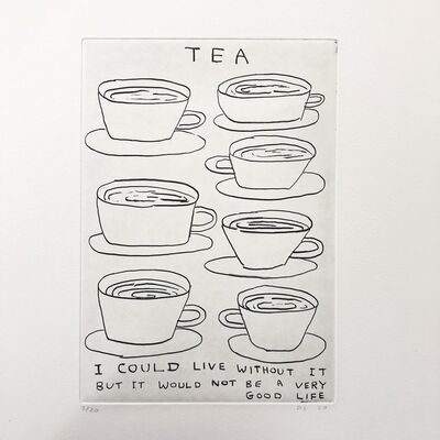 David Shrigley, 'Tea', 2020