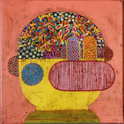 Gustavo Ortiz, 'Listener I'