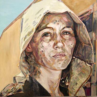 Hung Liu, 'Portrait: Pea Picker ', 2018