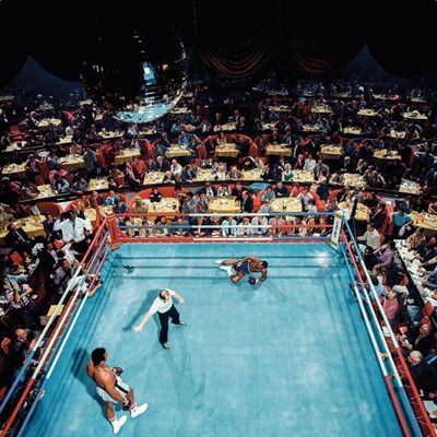 Neil Leifer, 'Neil Leifer. 'Ali vs. Foster, 1972' Dye sublimation print on ChromaLuxe aluminum panel', 2020