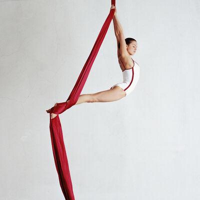 Valery Katsuba, 'RED RIBBONS IV', 2010