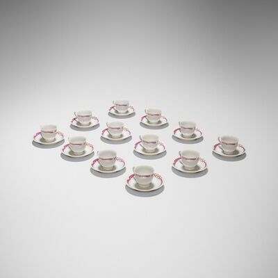 Maxim's de Paris, 'cups and saucers, set of twelve'