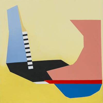 Ana Elena Garuz, 'St (amarilla)', 2016