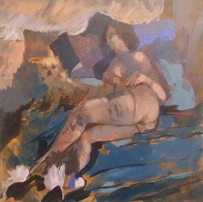 John Mathias, 'Nina and Carmella', 2020
