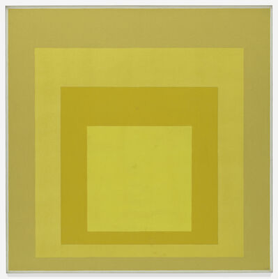 Josef Albers, 'Homage to the Square: Starting', 1968