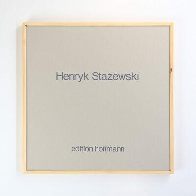 Henryk Stażewski, '4 serigrafien und 1 kartonrelief', 1977