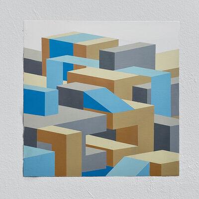 Joshua Dodson, 'Blue Slot', 2019