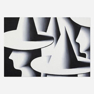 Mark Kostabi, 'Working the Crowd', 1985