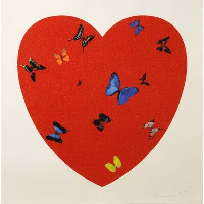 Damien Hirst, 'All You Need  Love, Love, Love ', 2009