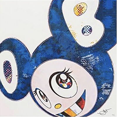 Takashi Murakami, 'And Then x 727 (Ultramarine: GUNJO)', 2013