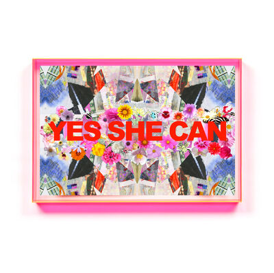 Kristi Kohut, 'YES SHE CAN', 2018