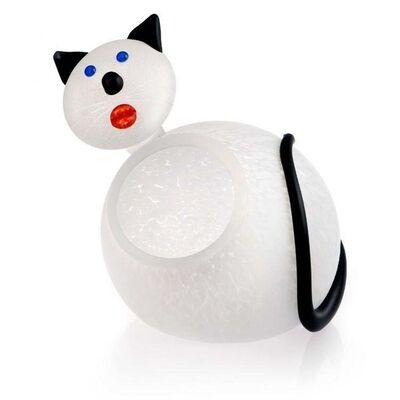 Borowski Glass, 'Kitty Bowl: 24-01-88 in White', 2018
