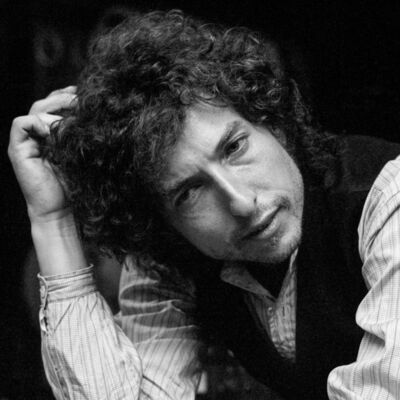 Lynn Goldsmith, 'Bob Dylan Scratching Head, 1976', 1976