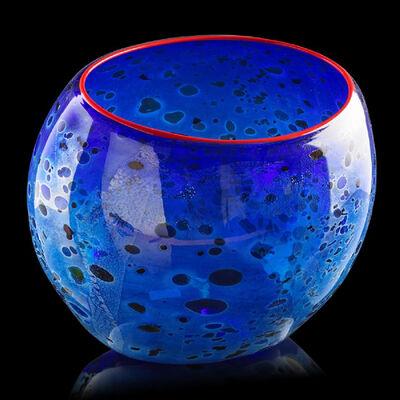Dale Chihuly, 'Cobalt Blue Basket', 1994