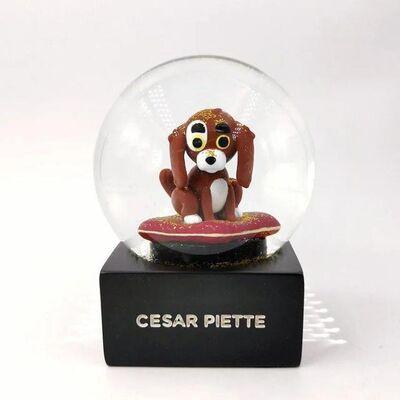 Cesar Piette, 'The Modern Puppy Snow Globe, 2020', 2020