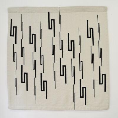 Vera Molnar, '30 lignes brisées', 2020