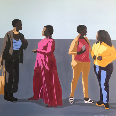 Shakes Tembani, '4 Ladies', 2019