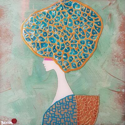 Beddru, 'Turquoise Amadea', 2018