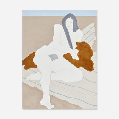 March Avery, 'White Nude', 1975