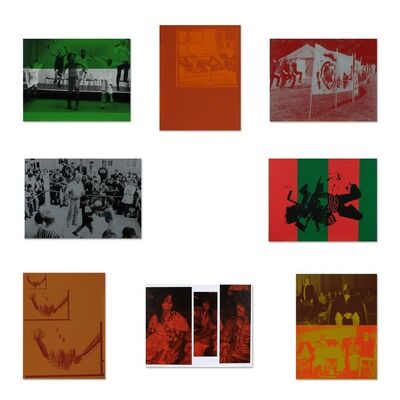 Cosima von Bonin, 'Untitled (Suite of 8 Silkscreens)', 1997