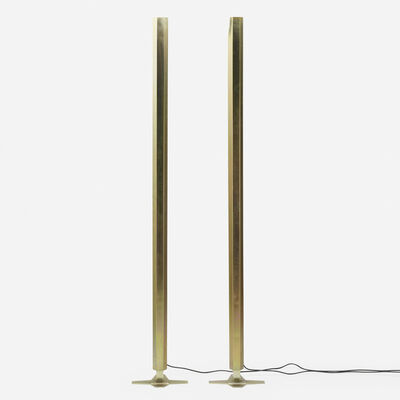 Mark Brazier-Jones, 'Rare Aura floor lamps, pair', c. 1994
